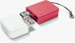 LaCie Data/Share USB dual flash card drive. Photo provided by LaCie USA.