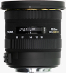 Sigma's 10-20mm F3.5 EX DC HSM lens. Photo provided by Sigma Corp.