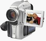 Sony's DCR-PC110 digital video camcorder. Courtesy of Sony.
