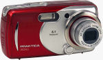 Praktica's DCZ 6.3 digital camera. Courtesy of Praktica, with modifications by Michael R. Tomkins.
