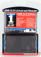 Delkin's USB 3.0 Universal Memory Card Reader. Photo provided by Delkin Devices Inc.