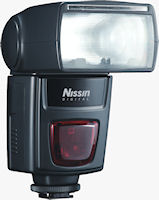 Nissin Di622 Mark II flash strobe. Photo provided by Nissin Japan Ltd.