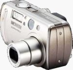 Samsung's Digimax V4 digital camera. Courtesy of Samsung, with modifications by Michael R. Tomkins.