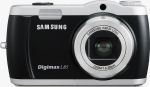 Samsung's Digimax L85 digital camera. Courtesy of Samsung, with modifications by Michael R. Tomkins.