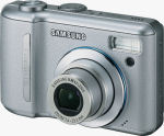 Samsung's Digimax S1000 digital camera. Courtesy of Samsung, with modifications by Michael R. Tomkins.