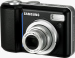 Samsung's Digimax S500 digital camera. Courtesy of Samsung, with modifications by Michael R. Tomkins.