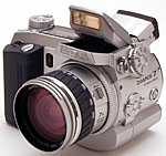 Minolta's DiMAGE 7 digital camera. Copyright (c) 2001, The Imaging Resource. All rights reserved.