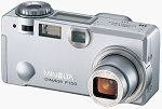 Minolta's DiMAGE F100 digital camera. Courtesy of Minolta, with modifications by Michael R. Tomkins.