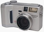 Minolta's DiMAGE S404 digital camera. Copyright © 2002, The Imaging Resource.