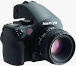 Mamiya's DM40 large-sensor DSLR. Photo provided by MAC Group.