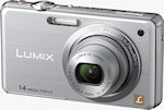 Panasonic's Lumix DMC-FH3 digital camera. Photo provided by Panasonic Consumer Electronics Co.