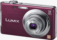 Panasonic's Lumix DMC-FH5 digital camera. Photo provided by Panasonic Consumer Electronics Co.