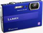 Panasonic's Lumix DMC-FP8 digital camera. Photo provided by Panasonic Consumer Electronics Co.