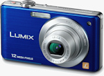Panasonic's Lumix DMC-FS15 digital camera. Photo provided by Panasonic Consumer Electronics Co.