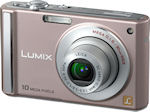 Panasonic's Lumix DMC-FS20 digital camera. Courtesy of Panasonic, with modifications by Michael R. Tomkins.
