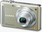 Panasonic's Lumix DMC-FS25 digital camera. Photo provided by Panasonic Consumer Electronics Co.
