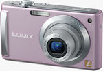 Panasonic's Lumix DMC-FS3 digital camera. Courtesy of Panasonic, with modifications by Michael R. Tomkins.