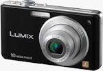 Panasonic's Lumix DMC-FS62 digital camera. Photo provided by Panasonic UK Ltd.