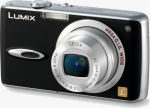 Panasonic's Lumix DMC-FX01 digital camera. Courtesy of Panasonic, with modifications by Michael R. Tomkins.