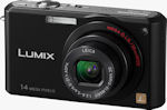 Panasonic's Lumix DMC-FX150 digital camera. Courtesy of Panasonic, with modifications by Michael R. Tomkins.