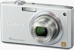 Panasonic's Lumix DMC-FX35 digital camera. Courtesy of Panasonic, with modifications by Michael R. Tomkins.
