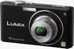 Panasonic's Lumix DMC-FX37 digital camera. Courtesy of Panasonic, with modifications by Michael R. Tomkins.