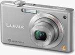 Panasonic's Lumix DMC-FX48 digital camera. Photo provided by Panasonic Consumer Electronics Co.