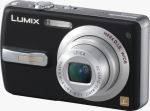 Panasonic's Lumix DMC-FX50 digital camera. Courtesy of Panasonic, with modifications by Michael R. Tomkins.