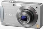 Panasonic's Lumix DMC-FX500 digital camera. Courtesy of Panasonic, with modifications by Michael R. Tomkins.