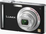 Panasonic's Lumix DMC-FX55 digital camera. Courtesy of Panasonic, with modifications by Michael R. Tomkins.