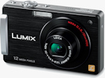 Panasonic's Lumix DMC-FX580 digital camera. Photo provided by Panasonic Consumer Electronics Co.