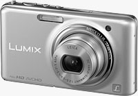 Panasonic's DMC-FX78 digital camera. Photo provided by Panasonic Consumer Electronics Co.