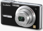 Panasonic's Lumix DMC-FX9 digital camera. Courtesy of Panasonic, with modifications by Michael R. Tomkins.