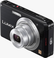 Panasonic's Lumix DMC-FX90 digital camera. Photo provided by Panasonic Consumer Electronics Co.