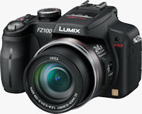 Panasonic's Lumix DMC-FZ100 digital camera. Photo provided by Panasonic Consumer Electronics Co.