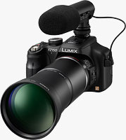Panasonic's Lumix DMC-FZ150 digital camera. Photo provided by Panasonic Consumer Electronics Co.