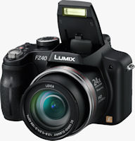 Panasonic's Lumix DMC-FZ40 digital camera. Photo provided by Panasonic Consumer Electronics Co.