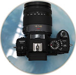 Panasonic's DMC-G HD prototype. Copyright ©2008, Imaging Resource. All rights reserved.