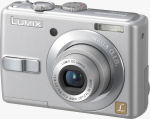 Panasonic's Lumix DMC-LS70 digital camera. Courtesy of Panasonic, with modifications by Michael R. Tomkins.