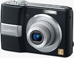 Panasonic's Lumix DMC-LS80 digital camera. Courtesy of Panasonic, with modifications by Michael R. Tomkins.