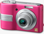 Panasonic's Lumix DMC-LS85 digital camera. Photo provided by Panasonic Consumer Electronics Co.