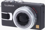 Panasonic's Lumix DMC-LX1 digital camera. Courtesy of Panasonic, with modifications by Michael R. Tomkins.
