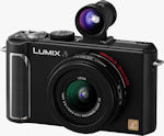 Panasonic's Lumix DMC-LX3 digital camera. Courtesy of Panasonic, with modifications by Michael R. Tomkins.