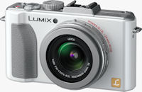 Panasonic's Lumix DMC-LX5 digital camera. Photo provided by Panasonic Consumer Electronics Co.
