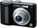 Panasonic's Lumix DMC-LZ8 digital camera. Courtesy of Panasonic, with modifications by Michael R. Tomkins.