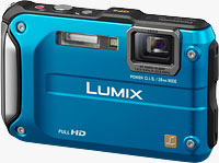 Panasonic's DMC-TS3 digital camera. Photo provided by Panasonic Consumer Electronics Co.