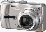 Panasonic's Lumix DMC-TZ2 digital camera. Courtesy of Panasonic, with modifications by Michael R. Tomkins.