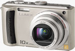 Panasonic's Lumix DMC-TZ50 digital camera. Courtesy of Panasonic, with modifications by Michael R. Tomkins.
