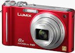Panasonic's Lumix DMC-ZR3 digital camera. Photo provided by Panasonic Consumer Electronics Co.
