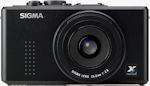 Sigma's DP2 digital camera. Courtesy of Sigma, with modifications by Michael R. Tomkins.